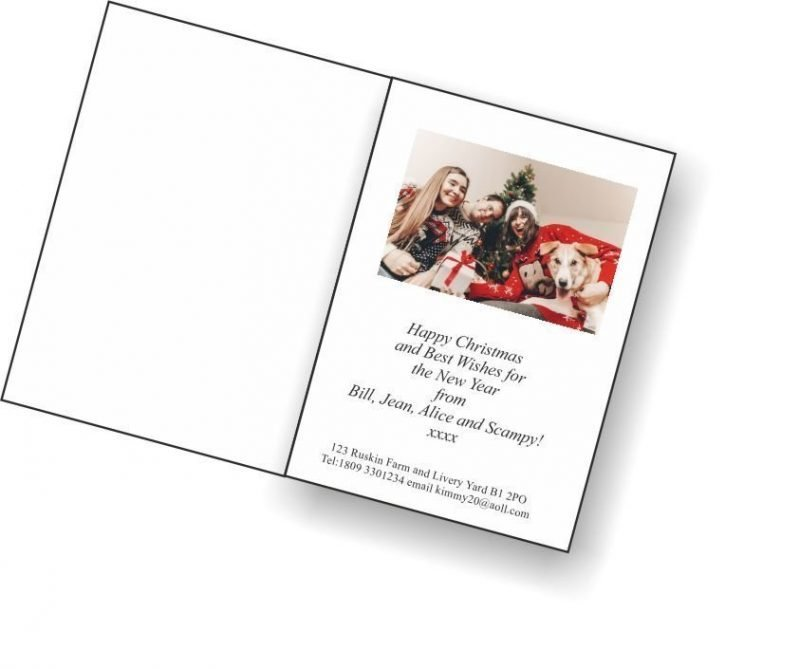 Personalise or Create Your Own Christmas Cards