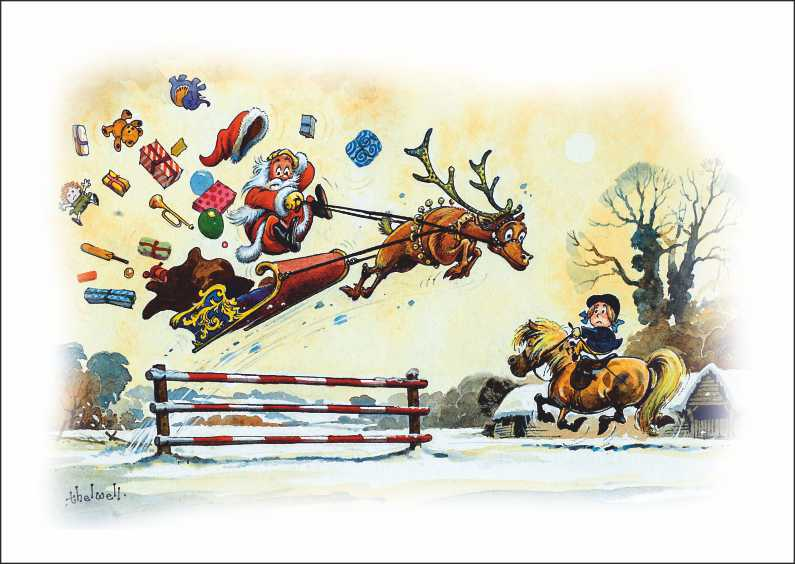 Enthusiastic Rudolph_Norman Thelwell