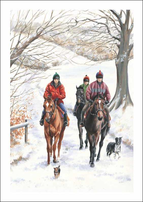 Winter's Ride_Caroline Cook