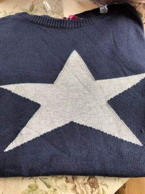 NEW 100% Cotton Star Jumpers in various colours